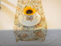 Table Runner Winnie the Pooh Hundred Acre Wood by LolaRoseDesigns, $15.00