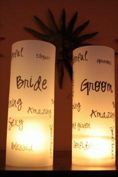 wdding luminaires | luminaries | wedding ideas