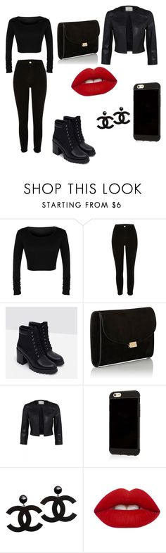 """""""Untitled #17"""" by explorer-145837088710 on Polyvore featuring Zara, Mansur Gavriel and Lime Crime"""
