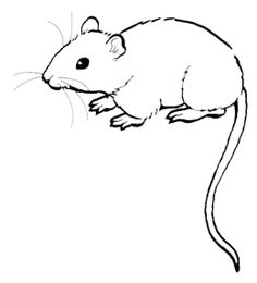 mouse people coloring pages - photo#21