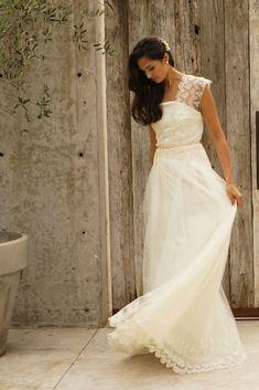 b0ee8cf80 30 hermosos vestidos de novia ideales para ceremonias civiles