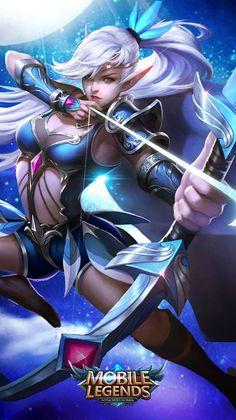 Mobile-legends-WallPapers-Miya | Mobile Legends