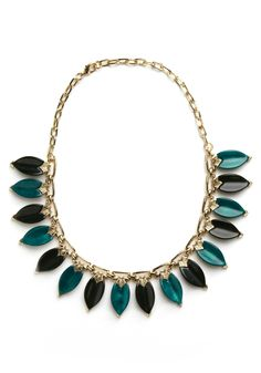Beyond Be-leaf Necklace at www.modcloth.com - $42.99.