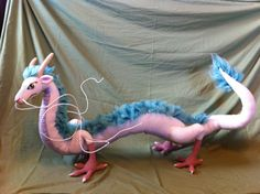 Huge-tastic Haku :) by ~aphid777 on deviantART - excellent work! I don't have the patience to crochet something that big and detailed!