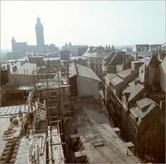 Leipzig 1968. Paris Skyline, Berlin, Germany, City, Places, Travel, Beautiful, Retro, Country