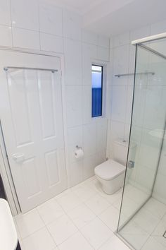 After shot of the toilet from the rear. Notice the crisp white lines in this recent bathroom renovation we completed in Brisbane Southside Suburbs Bathroom Renovations Brisbane, Beautiful Bathrooms, Toilet, Old Things, Flooring, Crisp, Home, Flush Toilet, Ad Home