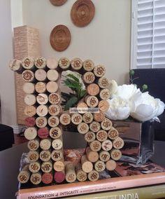 SimpleJoys: Wine Cork Letters