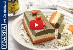 Receta Pastel de Navidad tricolor - Ybarra en tu cocina