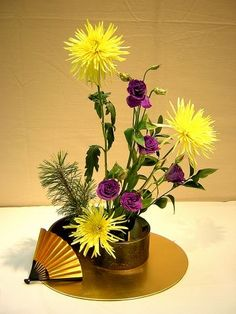 ... -... Ikebana: The Beautiful Simplicity of Japanese Flower Arranging