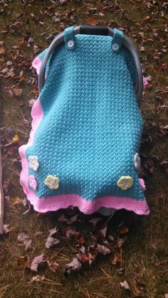 Car seat cover listing at https://www.etsy.com/listing/205682964/carseat-cover