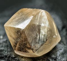 Dodecahedral crystal of diamond