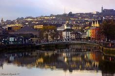 looking to the northside of Cork city