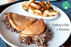 Short Rib Grilled Cheese from Fatboy's Kitchen & Bar in New London, CT