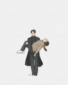 Cute Couple Drawings, Cute Couple Art, Easy Drawings, Kdrama, Jesus Artwork, Lee Min Ho Photos, Fanart, Cute Korean, Girl Cartoon