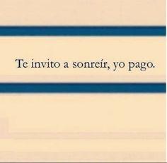 Frases Risueñas: Te invito a sonreír.... - https://alegrar.me/frases-risuenas-te-invito-sonreir/  -  Frases Risueñas: Te invito a sonreír….