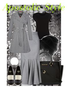 City of Lights Apostolic Style by emmyholloway on Polyvore featuring STELLA McCARTNEY, MICHAEL Michael Kors and Ray-Ban