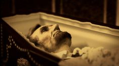 For real? Post-mortem photo of Abraham Lincoln.