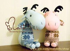 Sock Doll - Moose