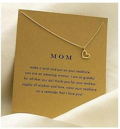Awwww.... for my mommy!!!! I love these necklaces~