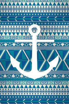 Tribal anchor galaxy iPhone/Android wallpaper I created for the app CocoPPa. Aztec Pattern Wallpaper, Anchor Wallpaper, Nautical Wallpaper, Cocoppa Wallpaper, Computer Wallpaper, Cute Wallpaper Backgrounds, Cute Wallpapers, Phone Backgrounds, Tribal Prints