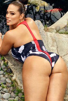 1190925190eed Ashley Graham x Swimsuits For All Samurai Swimsuit Graham Model