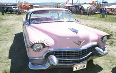 Amazing car with eyelashes!