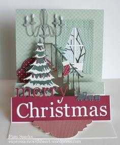 PamSparksStaircaseScene3:775  This year's Christmas card Leigh Ann?