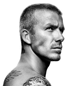 David Beckham (1975) - retired English footballer. Photo © Platon