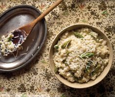 Lemony Asparagus Risotto Recipe | from The Everyday Wok Cookbook | House & Home