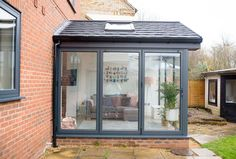 Our Modern Conservatory Extension- Before and After (Home Renovation Project - Mummy Daddy Me Lean To Conservatory, Conservatory Extension, Conservatory Kitchen, Conservatory Ideas, Conservatory Interiors, House Extension Design, Glass Extension, House Design, Garage Extension