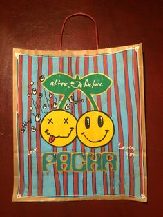 Pacha bag after before