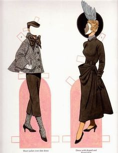 Classic Fashions of CHRISTIAN DIOR by TOM TIERNEY 15 of 17