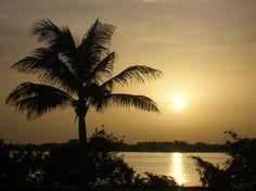 Así nos despedimos del día en Cancún desde la laguna Nichupté ~ So we said goodbye the day in Cancun from the Nichupte lagoon.  #OasisLovesU