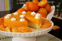 Torta Diet de Ricota e Tangerina   Receitas   Dia Dia