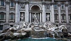 Trevi Fountain - I know from classic movies