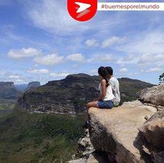 Chapada Diamantina es el destino de trekking más importante de Brasil. Llegamos a la cumbre de esta montaña que nos enamoró con su vista! #buemesporelmundo