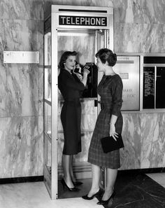 A New Model Phone Booth Introduced Photograph  - A New Model Phone Booth Introduced Fine Art Print