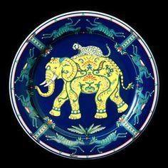 "Bopla! porcelain ""Cornac"" plate"