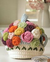 Tea cosy pattern from Cute and Easy Crochet