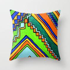 Chief Throw Pillow by Erin Jordan - $20.00