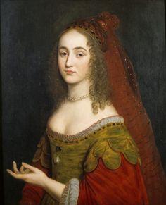 Henrietta Maria, Princess Palatine, third daughter of Elizabeth of Bohemia, by Gerard van Honthorst, 1660s
