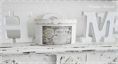 Schachtel Box Shabby von Nostalgie-Schmiede auf DaWanda.com