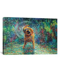 Look at this Iris Scott Shakin' Jake Gallery-Wrapped Canvas on #zulily today!