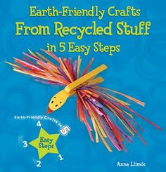 Make creatures and toys from common plastic items! Transform ordinary household items into creative crafts in just five easy steps! Have fun and at the same time, do your part in keeping the earth beautiful! Make an airplane from a plastic bottle, an octopus from bubble wrap, a doll from hair rollers, and much more!