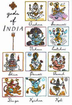 deesse elephant   Brahma, Shiva, Vishnu, Durga, Kali, Ganesh, Hanuman, Saraswati ...