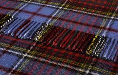 Pure Wool Anderson Tartan Throw 140x180 cms - Wool Tartan Throws 140x180 cms - Shop By Size Sofa Throws