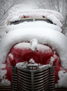 Truck in the snow. #amazingwinter