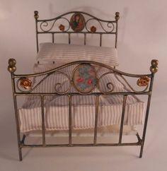 Spanish made: Miniature Iron Bed