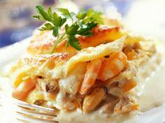 Lasagne met zeevruchten en champignons (Libelle Lekker!)