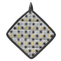 Mosaic pot holder 2-pack - 21x21 cm - Superliving